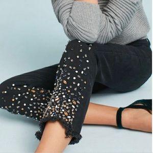 Pilcro & The Letterpress Jewel Raw Hem Jeans 26P